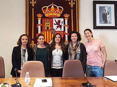 El nuevo equipo de gobierno del Ayuntamiento de Trillo