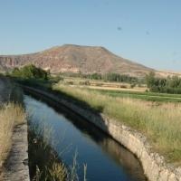 El Canal del Henares en la comarca de la Campiña de Guadalajara. Foto: A. De Juan.