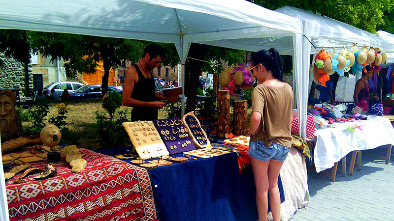 En la feria participaran una veintena de artesanos de la comarca