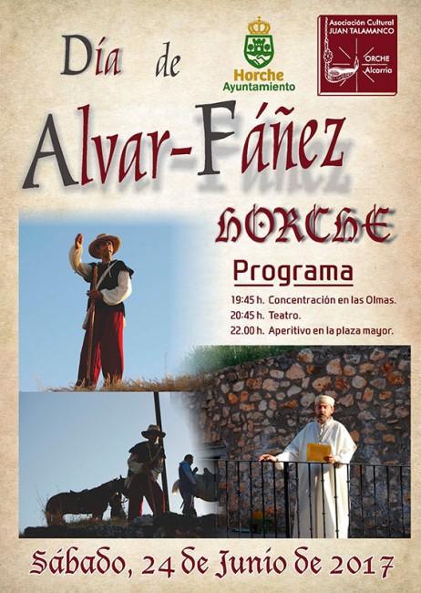 Cartel de la convocatoria del próximo sábado en Horche
