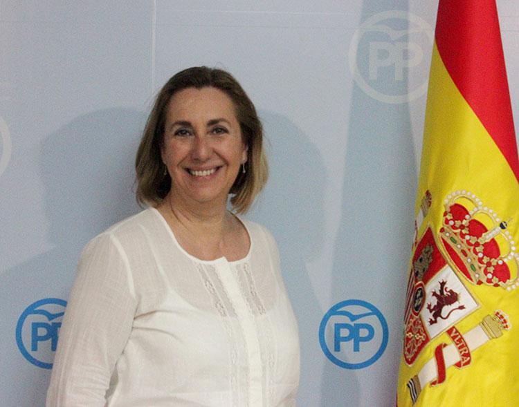 La parlamentaria del Partido Popular Silvia Valmaña