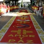 Las alfombras del Corpus Christi en Guadalajara