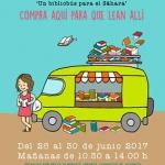Mercadillo solidario de libros en la Casa de la Cultura