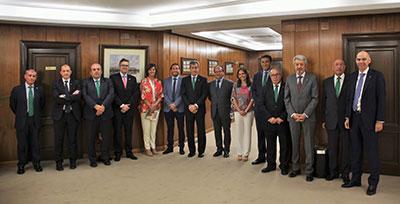 Integrantes del Patronato Fundación Caja Rural de Castilla-La Mancha