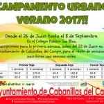 Abierta la inscripción para el Campamento Urbano de Verano en Cabanillas