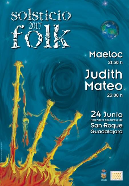 Cartel ilustrativo del Solsticio Folk