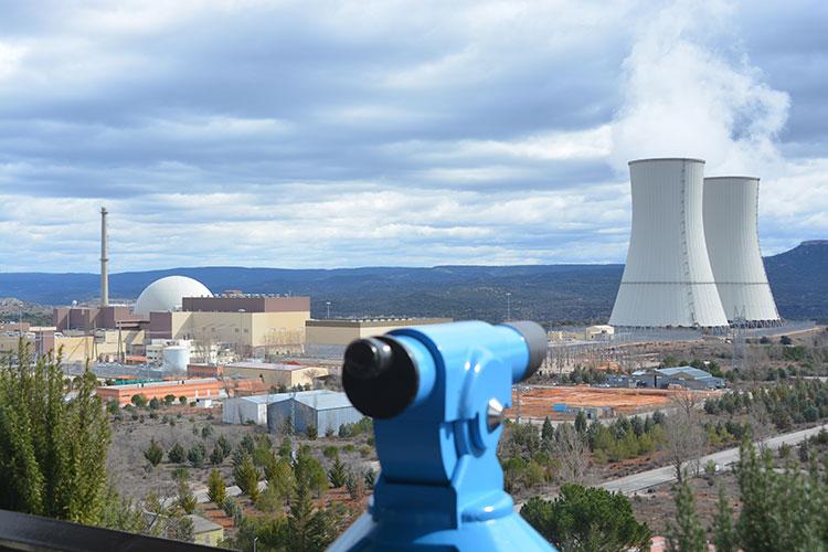 Imagen de la instalación nuclear