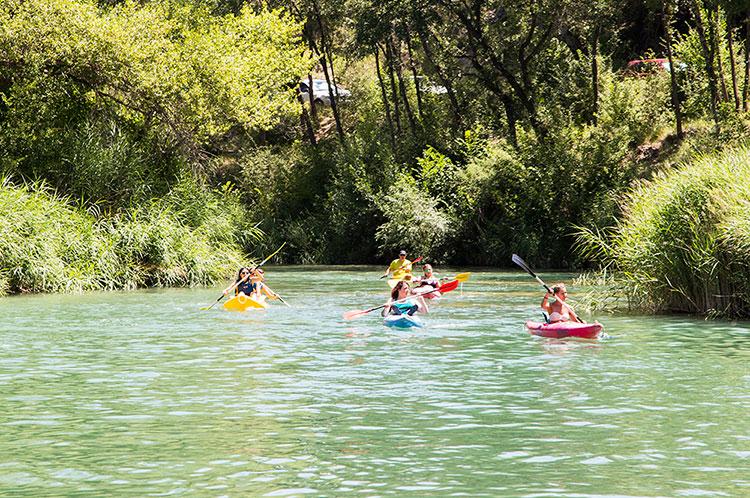 Piragüismo, una de las actividades previstas para este verano en Trillo