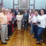 """Latre:""""El equipo de funcionarios de la Diputación está bien preparado para atender a nuestros pueblos"""""""