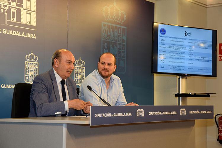 Presentación de los actos del 30 aniversario del Polideportivo San José