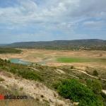 Vista del embalse de Entrepeñas junto a Sacedón