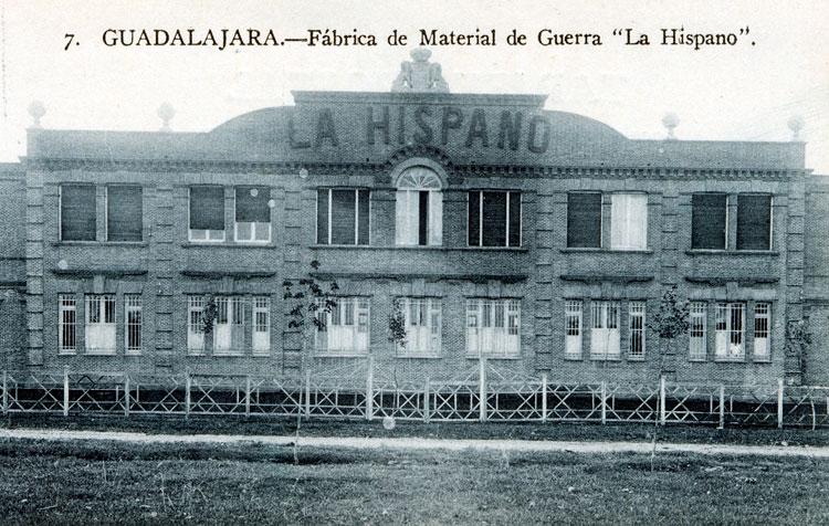 La fábrica de la Hispano Suiza cumple en 2017 cien años de presencia en Guadalajara