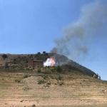Pequeño incendio forestal en Sacedón