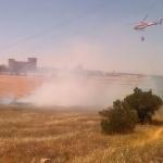 Viernes de incendios forestales en la provincia