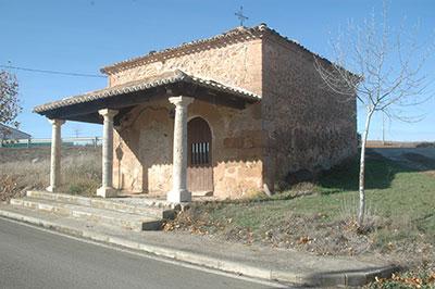 Jirueque: ermita de la Virgen de la Soledad
