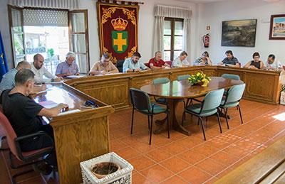 Pleno del ayuntamiento de Marchamalo