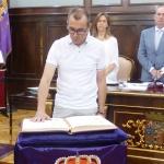 Marco Campos toma posesión como nuevo diputado provincial