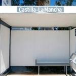 Nuevas marquesinas en paradas de autobuses interurbanos de cinco municipios