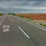 Detenido un motorista que circulaba por la carretera N-320 a 208 km/h