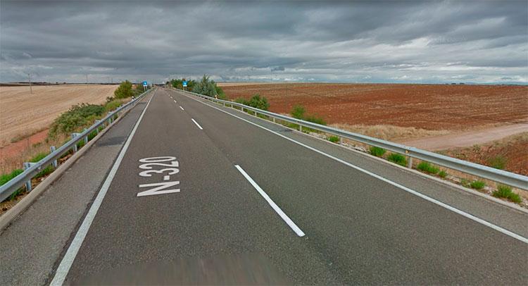 Resultado de imagen de carretera n320 madrid