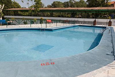 Imagen de la piscina de verano de San Roque