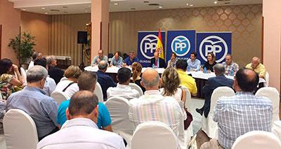 Reunión del Comité Ejecutivo Provincial del PP
