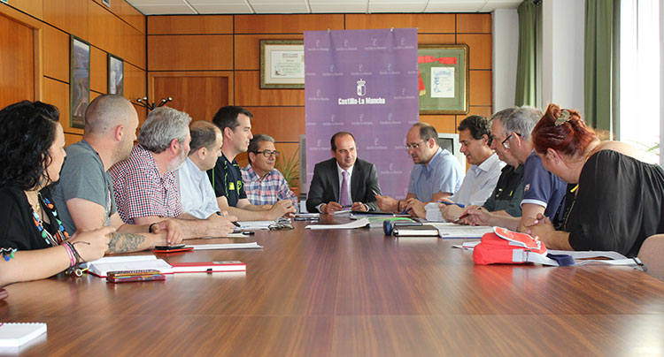 Reunión del Comité Asesor Provincial del Plan contra Incendios Forestales de Castilla-La Mancha