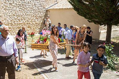 Azañón, Viana de Mondéjar y La Puerta celebraron San Antonio