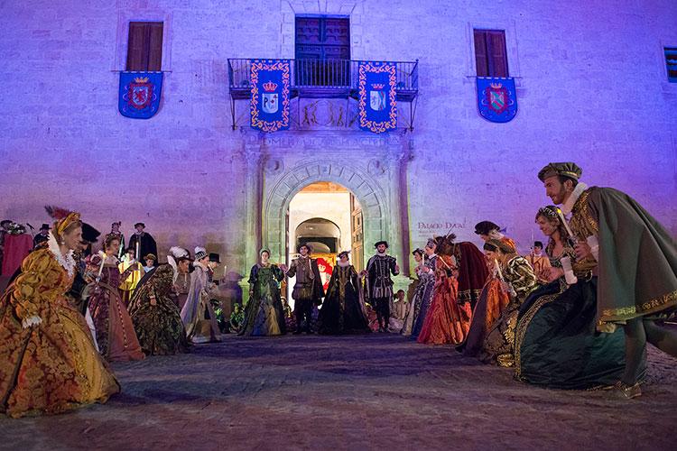 Todo a punto para el festival ducal de Pastrana