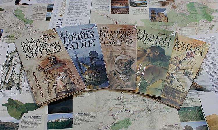 Los nuevos folletos del Camino de Cid