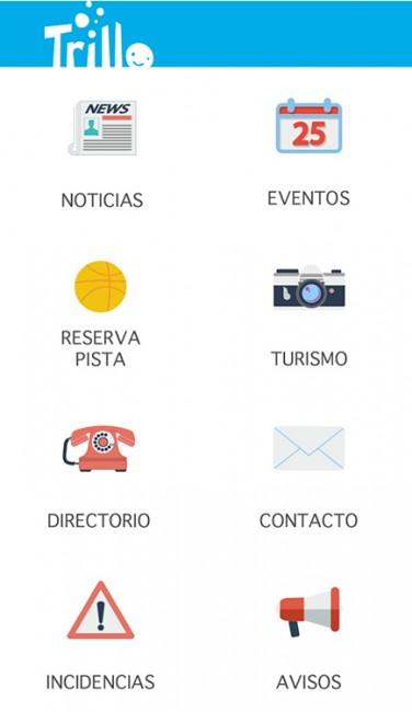 La nueva aplicación con información sobre Trillo