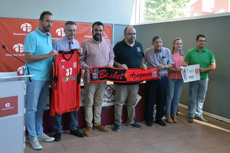 Presentación de la nueva temporada del Basket Azuqueca