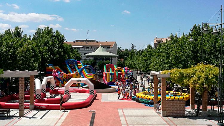 Cabanillas instalará un parque de juegos en el ferial durante el fin de semana