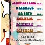 El sábado, noche de rock en El Casar