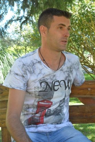 Manuel Martínez, unos de los miembros de Proyecto Hombre, que se está tratando de su adicción a la cocaína. //Foto: Henaresaldia.com