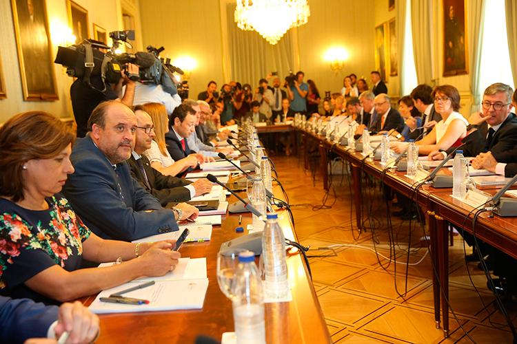 Martínez Guijarro ha asistido hoy en Madrid, al Comité de Seguimiento de la Conferencia de Presidentes en el Ministerio de la Presidencia y para las Administraciones Públicas