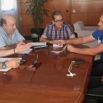 López Tabernero analiza con la nueva junta directiva de la Denominación de Origen Mondéjar la situación del sector