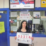Un millón de euros para un acertante del sorteo de la lotería de hoy