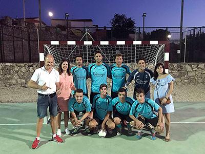 El equipo ganador en fútbol sala