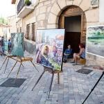 """El cuadro """"Un callejón de Trillo"""" gana el XV Concurso de Pintura Rápida"""