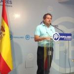 Úbeda pide a Page que no se firme el convenio de conexión con Alcorlo