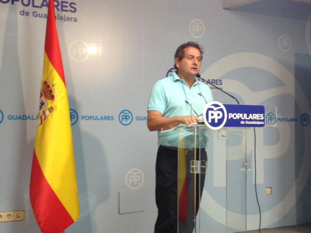 El portavoz del PP en la MAS, Francisco Úbeda