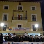 Gran acogida del IX Encuentro Provincial de Bandas de Música en Sacedón