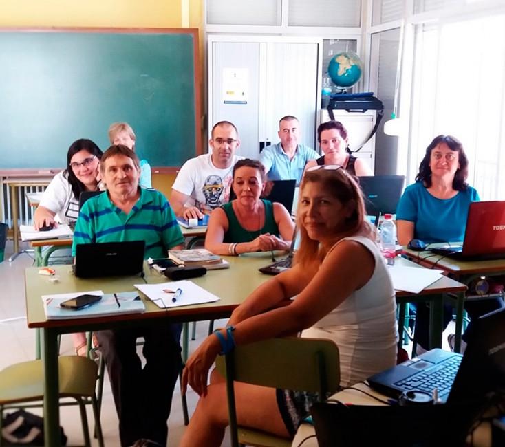 Participantes en este curso de promoción turística en Sacedón
