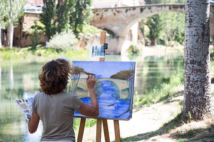 El domingo arranca el XV Concurso de pintura rápida de Trillo