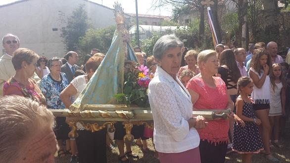 Las fiestas de Galve se celebran en honor de Nuestra Señora del Pinar. // Foto: www.galvedesorbe.es