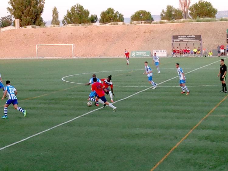 Partido amistoso entre el Alovera y el Hogar con victoria de los visitantes por 1-7