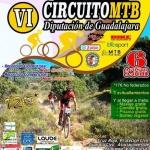 El domingo 6, VI Trofeo MTB Jardín de la Alcarria en Brihuega