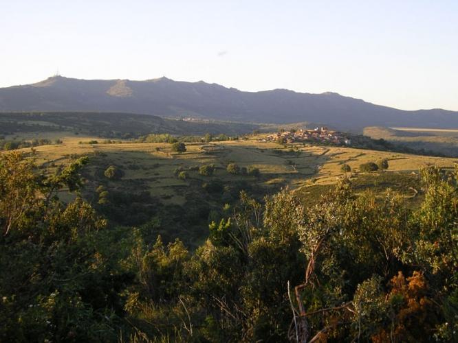Vista de la sierra del Alto Rey