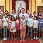 Los 32 niños saharauis se despiden de Guadalajara